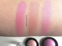 Makeup Revolution Baked Blushers Review