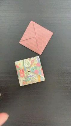 Diy Crafts Hacks, Diy Crafts For Gifts, Diy Arts And Crafts, Envelope Origami, Instruções Origami, Origami Videos, Oragami, Cool Paper Crafts, Paper Crafts Origami