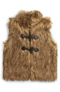 Tucker + Tate Faux Fur Vest (Toddler Girls, Little Girls & Big Girls) available at #Nordstrom