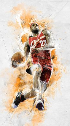 Lebron by Mike Harrison