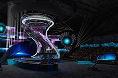 DESIGN-PROJECT OF CONCERT AND SPECTACULAR SPACE on Behance