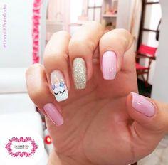 Una suave, delicada y rosada semana para todas las uñas! Unicorn Nails, Negative Space, First Birthdays, Acrylic Nails, Nail Designs, Nail Art, Kawaii, Disney, Board