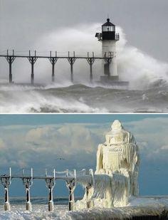 St Joseph Lighthouse, Michigan, USA