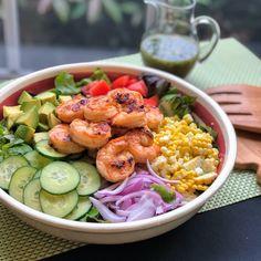 Shrimp Salad Recipes, Seafood Recipes, Cooking Recipes, Healthy Recipes, Shrimp Salads, Shrimp Meals, Seafood Meals, Food Dinners, Seafood Pasta