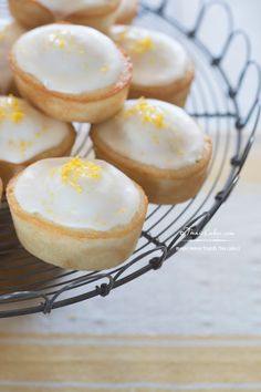 Meyer Lemon Friands recipe (Tea Cakes) & Lemon Cakes for Sansa Stark #GameofThrones