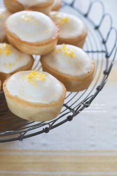 Meyer Lemon Friands recipe (Tea Cakes) & Lemon Cakes for Sansa Stark #GameofThrones