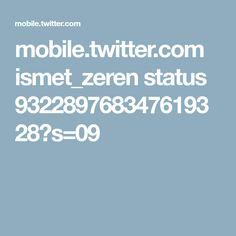 mobile.twitter.com ismet_zeren status 932289768347619328?s=09