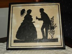 Victorian Times: Victorian Silhouettes