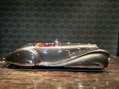1937 Delahaye 135MS Roadster. Sensuous Steel: Art Deco Automobiles
