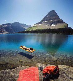 Hidden Lake, Glacier National Park, Montana @travisburkephotography