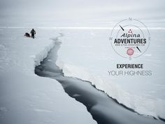 Fourteen once-in-a-lifetime adventure trips designed and guided by Alpina Watches ambassador, legendary polar explorer Borge Ousland - the only man alive to have crossed both south and north pole in solo - and his team. Bookings at www. Alpina Watches, North Pole, Man Alive, Arctic, Adventure Travel, Explore, Movie Posters, Travel, Film Poster