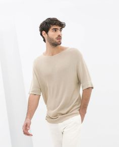 Image 2 of SHORT SLEEVE SWEATER from Zara