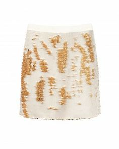 Buy Ted Baker Joleigh Sequin Mini Skirt, Gold from our Women's Skirts range at John Lewis & Partners. Gold Skirt, Sequin Mini Skirts, Beautiful Streets, Dressed To The Nines, Short Skirts, Black Skirts, Casual Skirts, Fabric Manipulation, Fashion Pictures