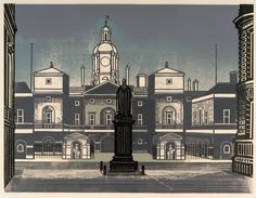 London through the eyes of illustrator and graphic designer Edward Bawden