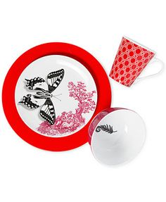 Clinton Kelly Effortless Table Enchanted Garden 4 Piece Place Setting