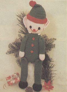 Christmas Elf Crochet Pattern PDF