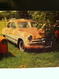 '49 Ford With the rare Crestline trim