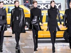Faux Fancy offers tips for pulling off this fall's daytime leather trend - even in the office! - without looking like you raided Catwoman's closet.