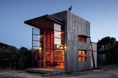 Hut on Sleds by Crosson Clarke Carnachan Architects.Read great articles on the latest 2013 #dream #home trends here http://articles.builderscrack.co.nz or hire a professional today from #Builderscrack http://builderscrack.co.nz/post-job-desc