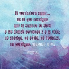 El verdadero #amor... Antonio Gala