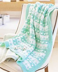 Ravelry: Stripes & Dots Blanket pattern by Marianne Forrestal