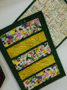 Bay Window Placemats - 2014 MN Shop Hop Fabric