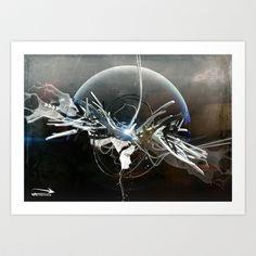 Sketch 86 Art Print by Graffiti Technica - $15.00