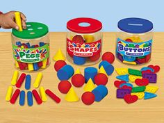 This would be great to make for preschool learning. Upcycled containers. Can work colors, shapes...you name it.