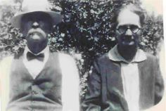 """Photo of John George and Mary Jane (Rice) Smith of Seminary, Covington County, Mississippi. Cir. 1940's. They were my Great-Grandparents. """"George"""" and Mary Jane Smith lived on wha…"""