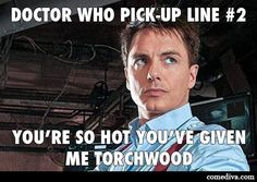 Doctor Who Pick-Up Lines