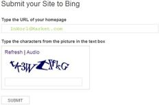 Bing Submission