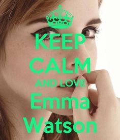 Keep calm and love Emma Watson (18)