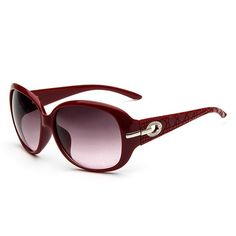 Chic Hollow Alloy Inlay Embellished Sunglasses For Women #women, #men, #hats, #watches, #belts, #fashion