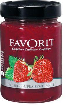 Bild von Favorit Konfitüre Erdbeeren