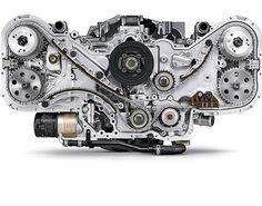 Beautiful H6 #BOXER ENGINE #SUBARU