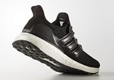 buy popular 9d50b bfa93 The Adidas Ultra Boost  Black Leather  lands later this month… Zapatos De  Tacón
