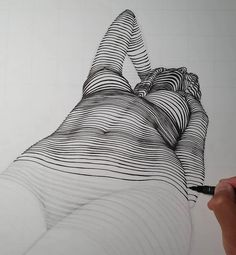 Line Art By Nester Formentera | Drawing | ARTWOONZ