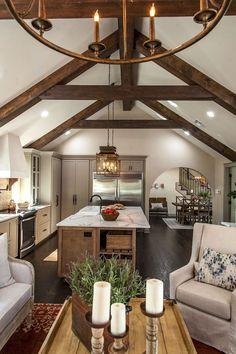 Rustic farmhouse living room decor ideas (51)