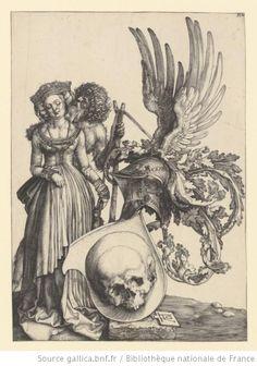 * Les armoiries de la Mort   Dürer 1503