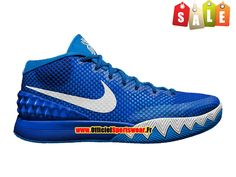 watch 56db8 93878 Nike Kyrie 1 iD - Chaussure de Basket-ball Pas Cher Pour Homme Bleu Blanc