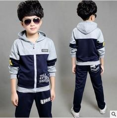 Cheap children's sports suits, Buy Quality girls tracksuit directly from China kids clothes set Suppliers: Boys Girls Tracksuit 2017 Autumn Children Clothing Sets Patchwork Kids Clothes Set Child Sport Suits Girl Boy sportswear Baby Outfits Newborn, Baby Boy Outfits, Kids Sportswear, Wholesale Baby Clothes, Girls Tracksuit, Kids Suits, Girl Falling, Outfit Sets, Pull