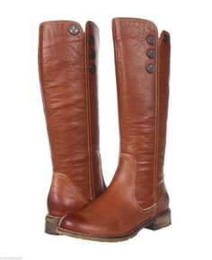 NEW SOFFT BROWN LEATHER BELVUE KNEE HIGH BOOTS SZ 11