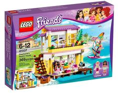 Lego Friends | Stephanie's Beach House (set# 41037) available in 2014