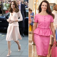 Kate Middleton Charlotte York Style Similarities | POPSUGAR Fashion