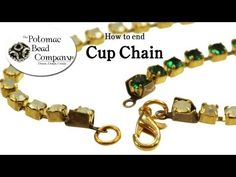 How to Use Cup Chain Ends - YouTube