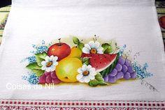pintura-melancia-ma�a-pera-uvas