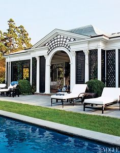 The 10 Coolest Celebrity Vacation Homes. Tory BurchPool HousesHouse ...