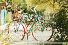cute bicycle. if only i cld cycle properly without falling off every.single.time...