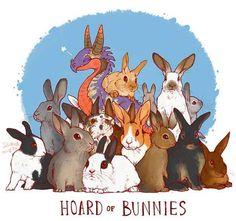 Hoard of Bunnies by Lauren Dawson