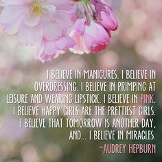Audrey knows best!